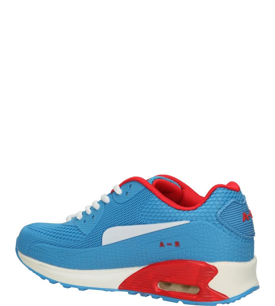 SPORTOWE CASU B402 kolor czerwony, niebieski