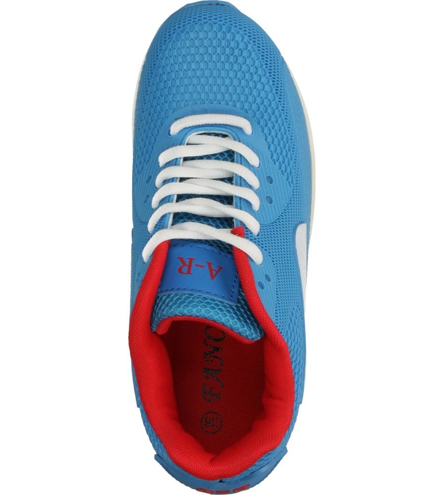 Damskie SPORTOWE CASU B402 niebieski;czerwony;