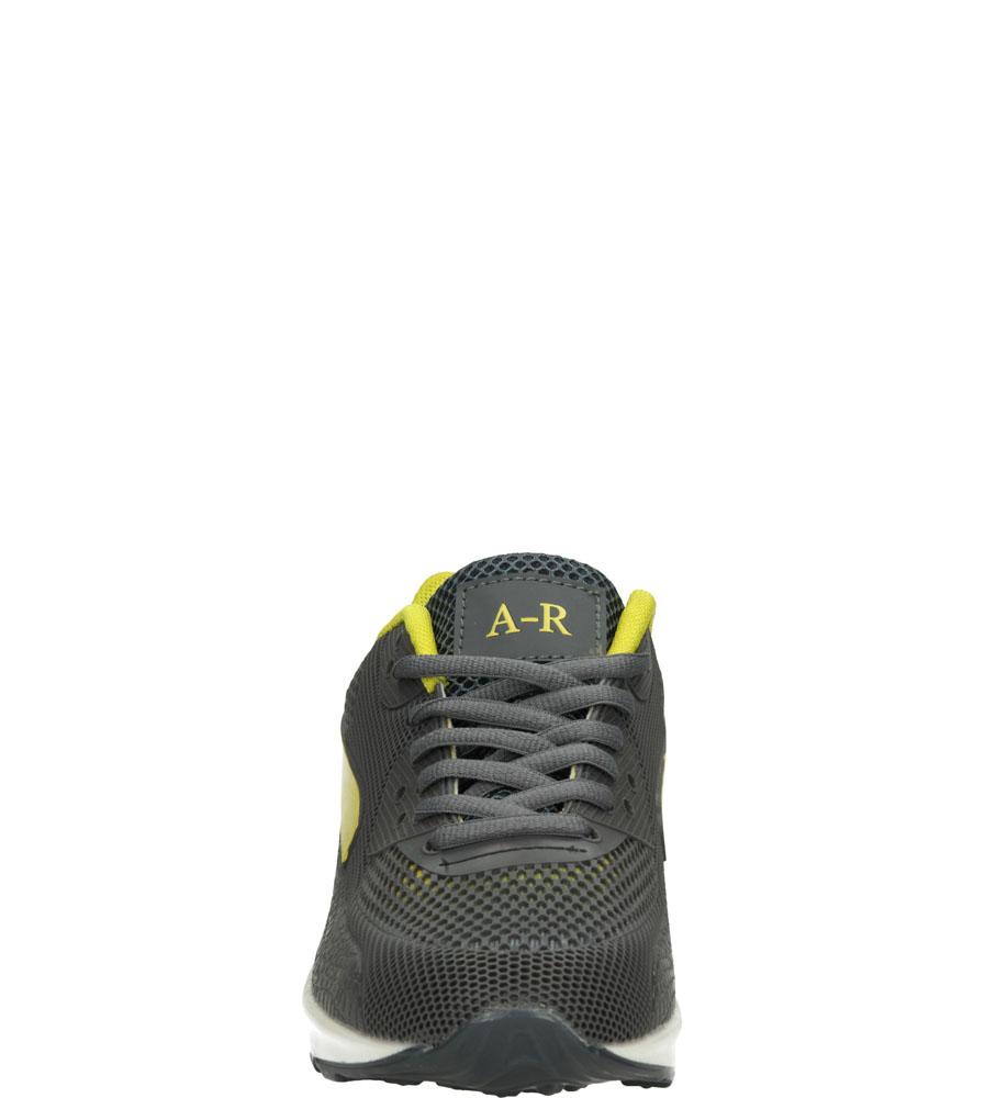Damskie SPORTOWE CASU B402 szary;żółty;