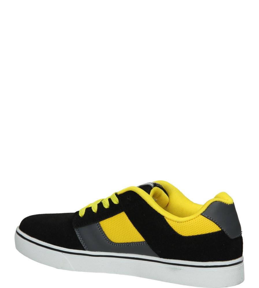 Męskie SPORTOWE H1003 czarny;żółty;
