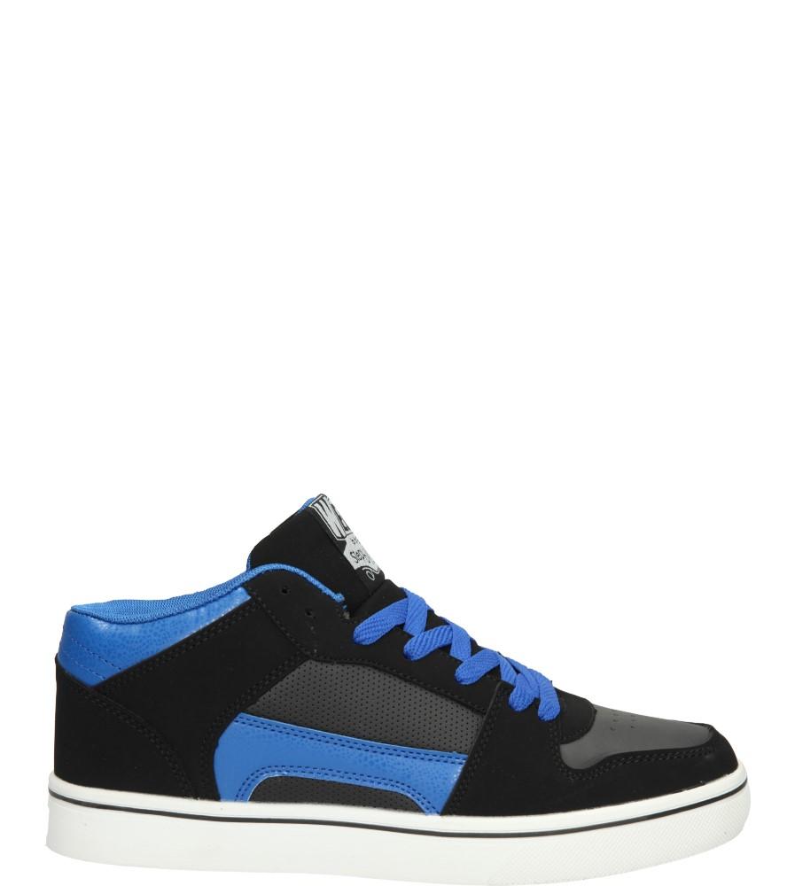 Męskie SPORTOWE H1003 czarny;niebieski;