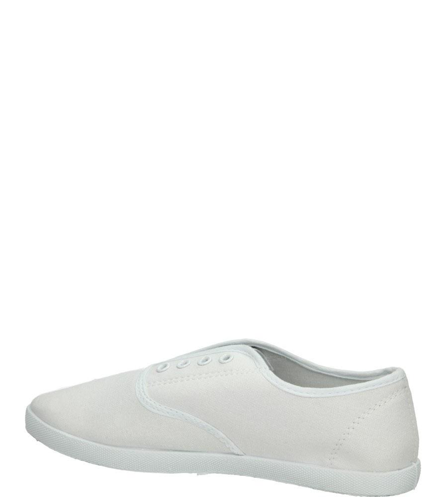 Damskie TENISÓWKI CASU 7SP-207-LS biały;;