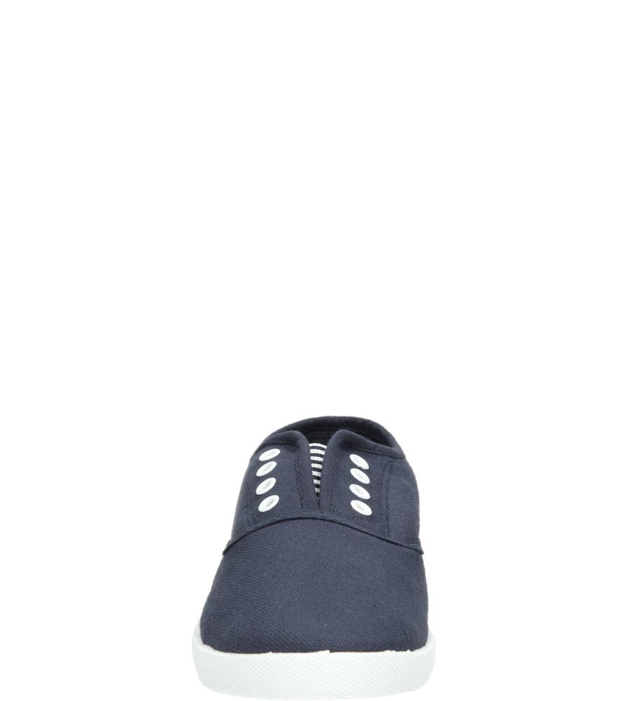 Damskie TENISÓWKI CASU 7SP-206-LS niebieski;;