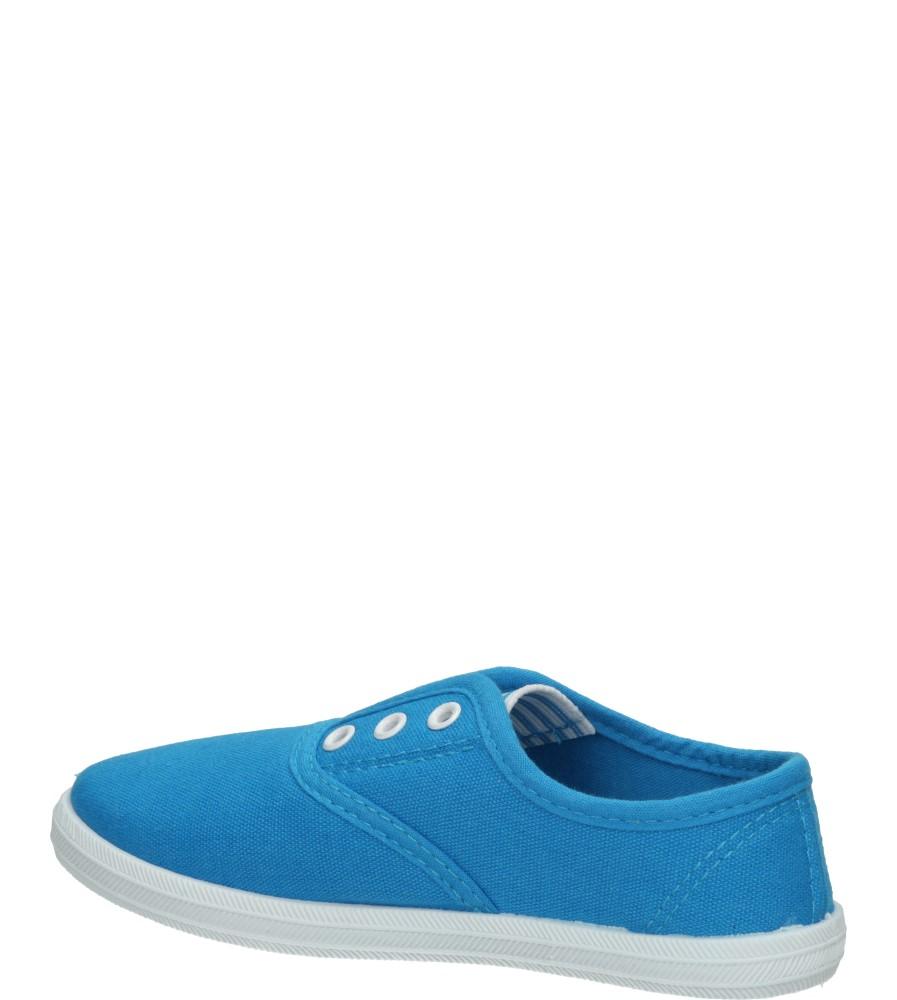 TRAMPKI 5SP-210-LS kolor niebieski