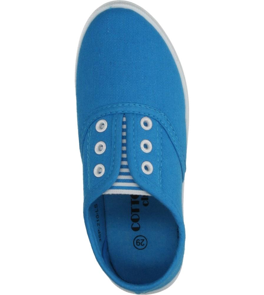 Dziecięce TRAMPKI 5SP-210-LS niebieski;;