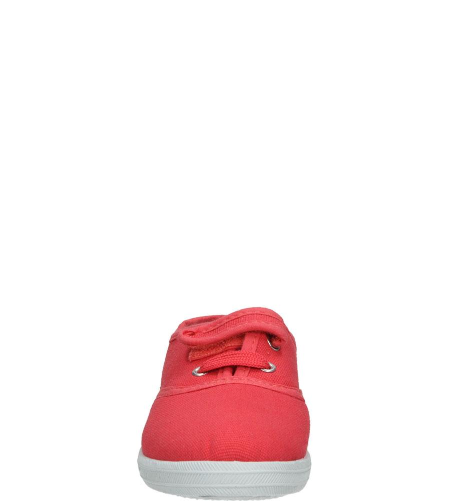 TRAMPKI CASU 3SP-127B-LS kolor ciemny różowy