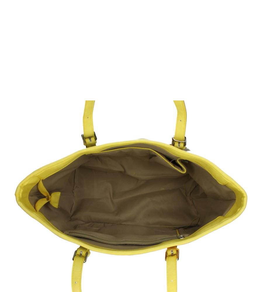 Damskie TOREBKA 5077 żółty;multikolor;