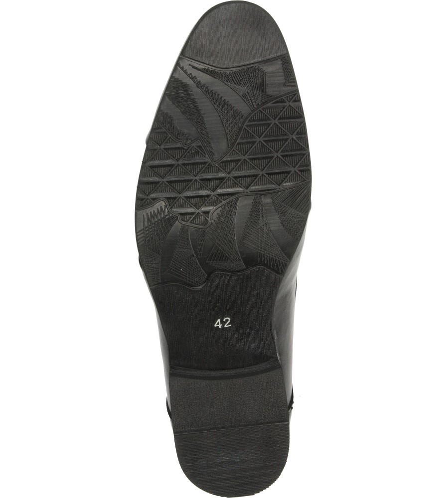 Męskie WIZYTOWE LXC250 czarny;;