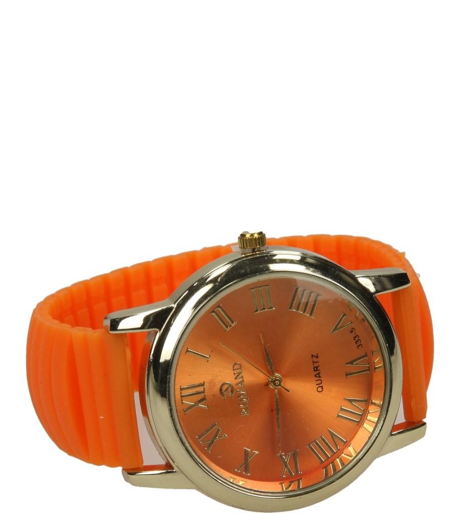 Damskie ZEGAREK 333-5R pomarańczowy;złoty;
