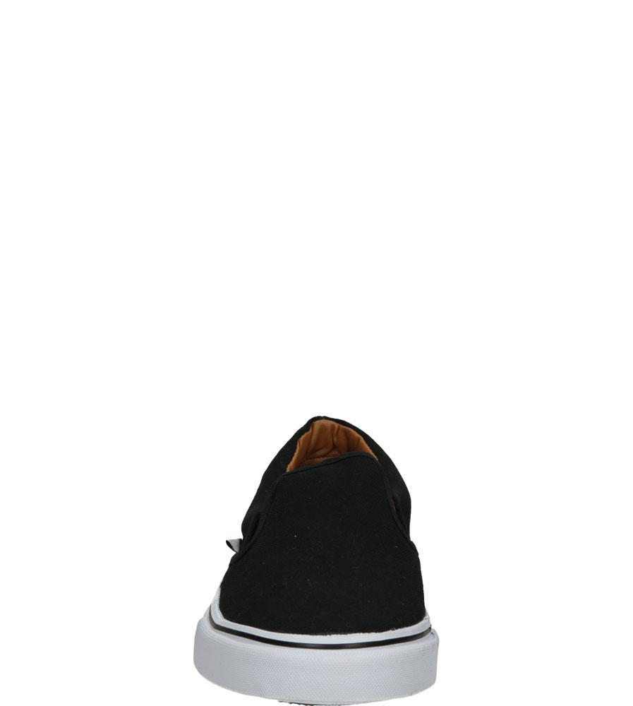 Męskie TRAMPKI AMERICAN LH-15-66 czarny;biały;