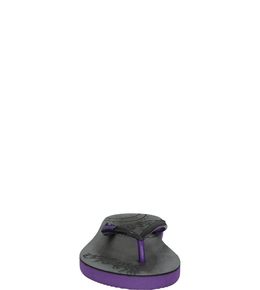 Damskie JAPONKI AMERICAN MH14530-2 czarny;fioletowy;