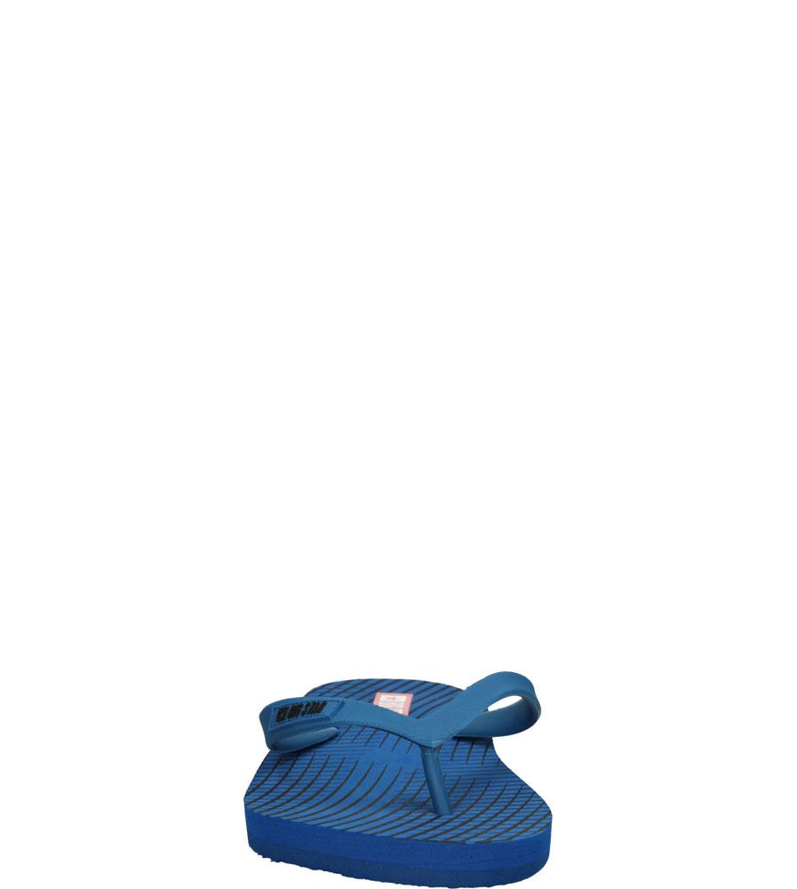 Męskie JAPONKI BIG STAR S174208 niebieski;;