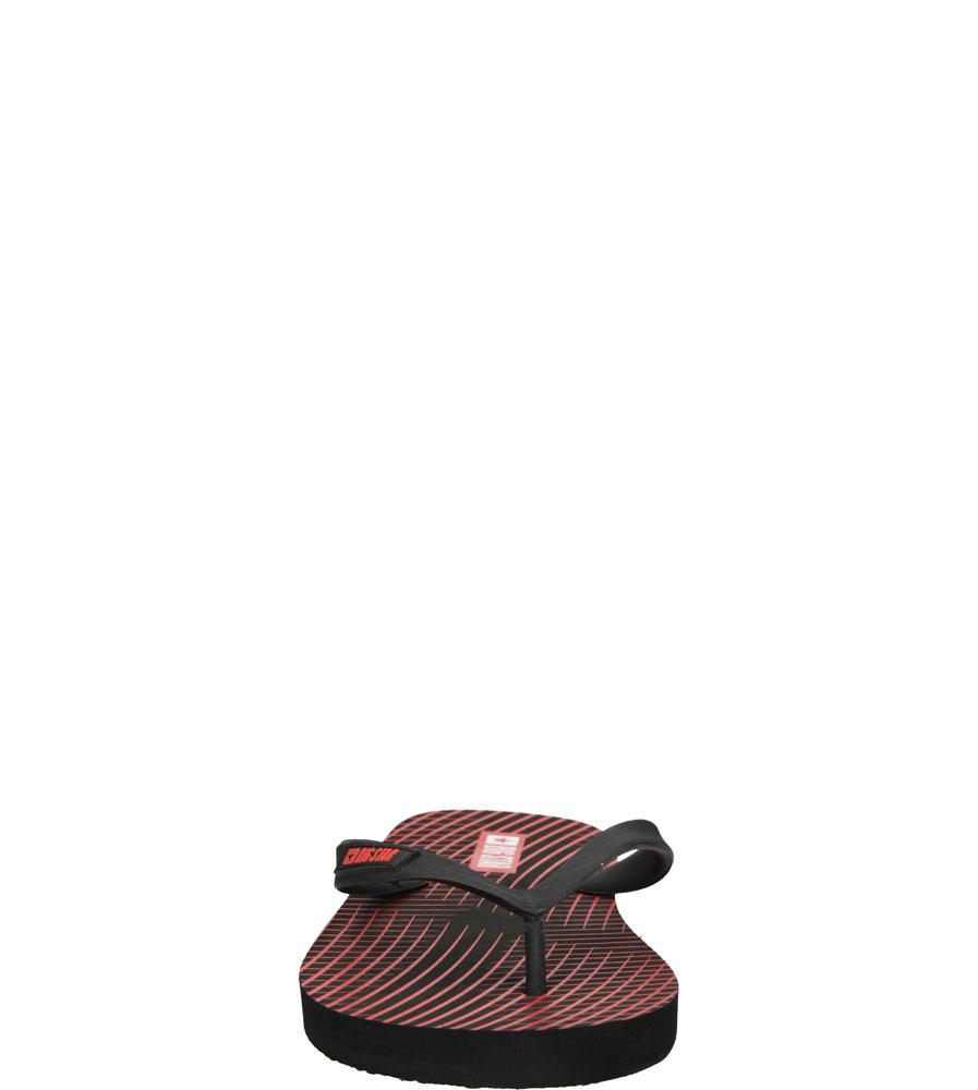 Męskie JAPONKI BIG STAR S174206 czerwony;;