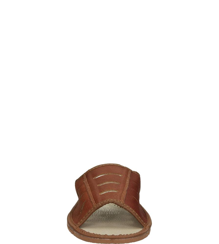Męskie KAPCIE CASU M-629 brązowy;;