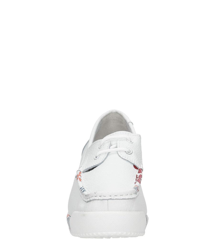 MOKASYNY LANQIER 36C166 kolor biały
