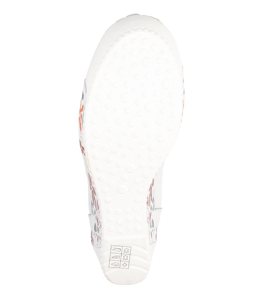 Damskie MOKASYNY LANQIER 36C166 biały;;