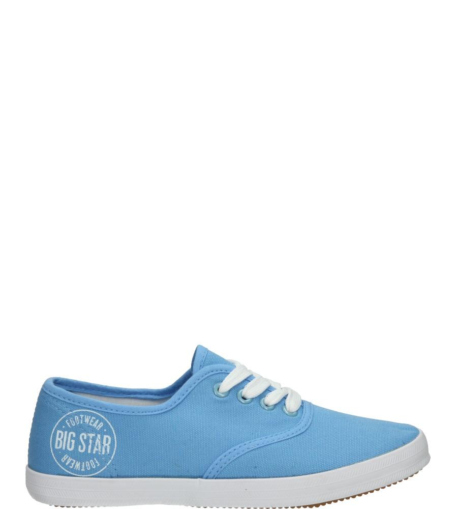 Damskie TENISÓWKI BIG STAR S27460 niebieski;;
