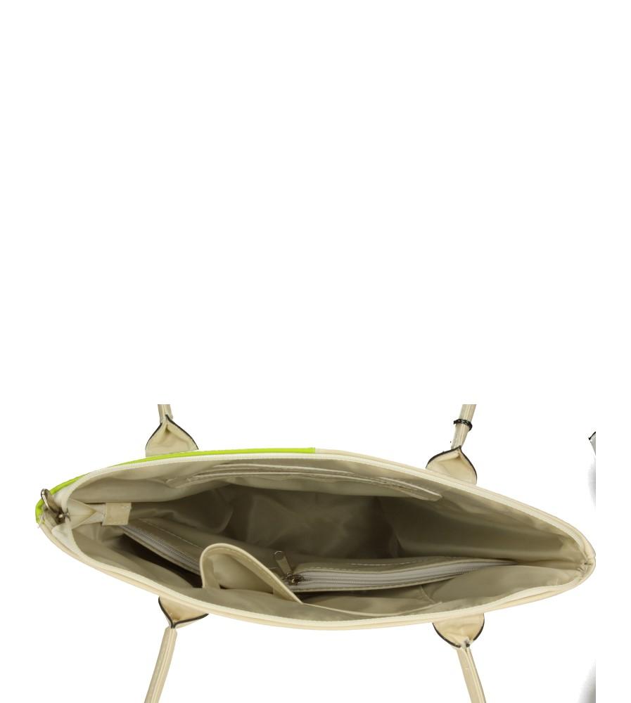 Damskie TOREBKA 1317 beżowy;zielony;
