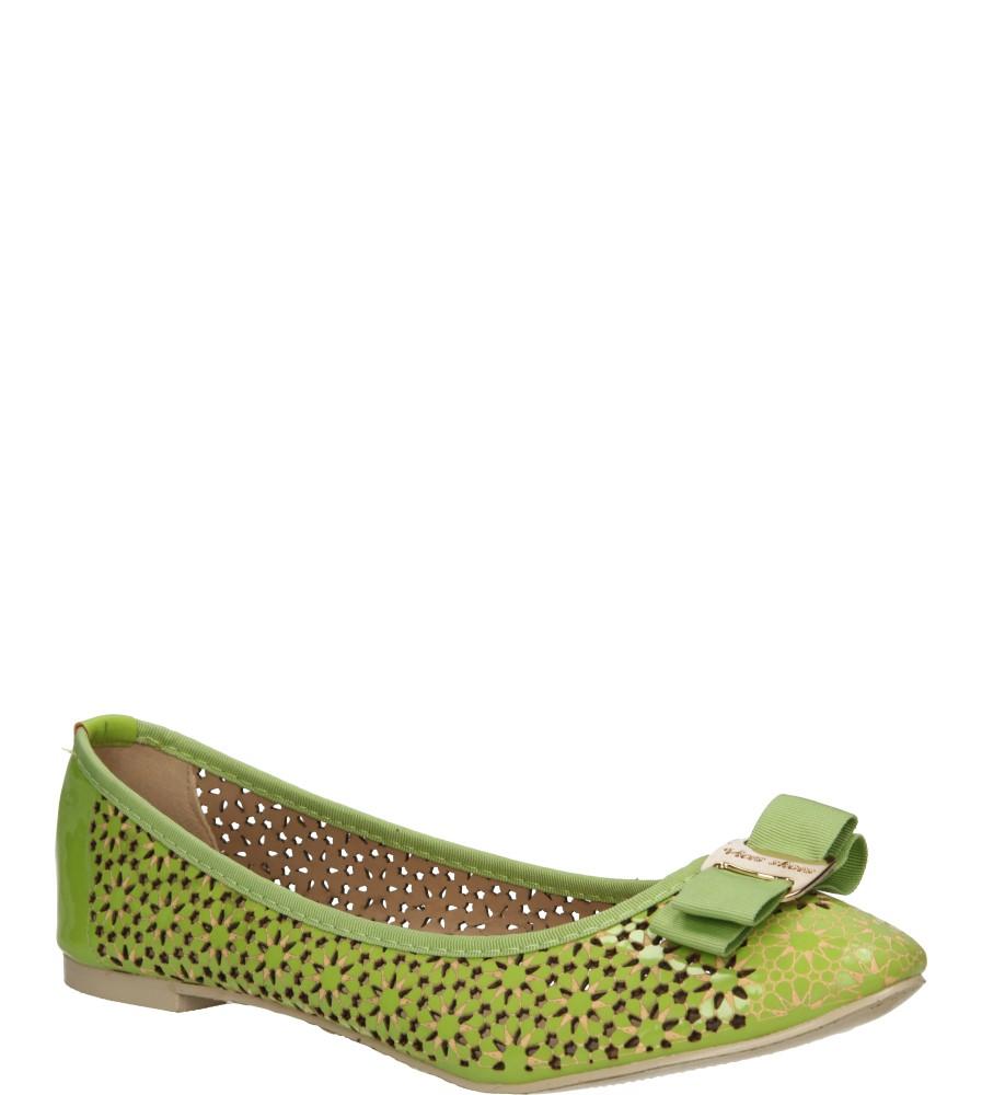 Damskie BALERINY CASU VICES X620 zielony;;