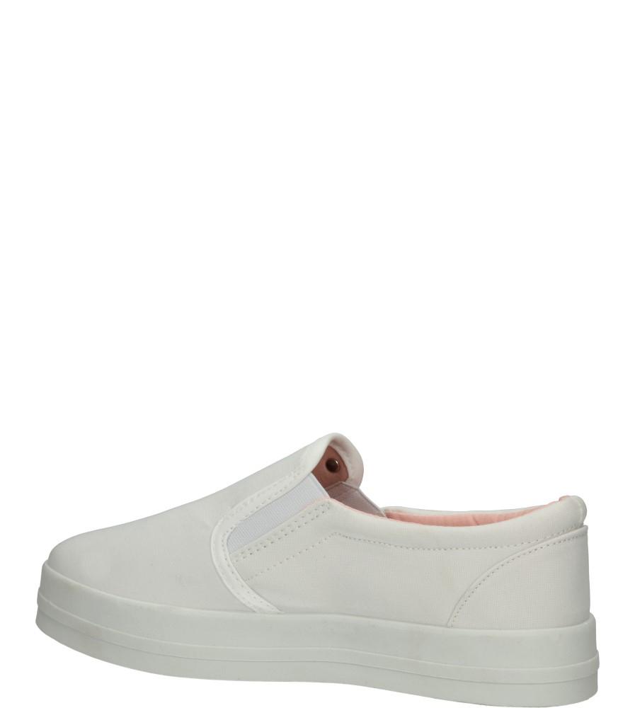 Damskie CREEPERSY CASU B714-41 biały;;