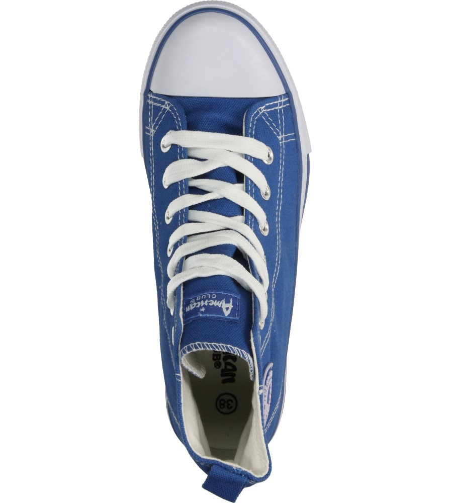 Damskie TRAMPKI AMERICAN LH-15-9120-41 niebieski;;