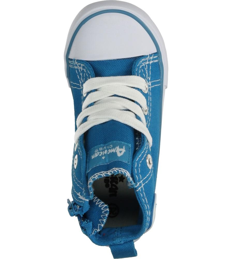 Dziecięce TRAMPKI AMERICAN LH-14-9120 niebieski;;
