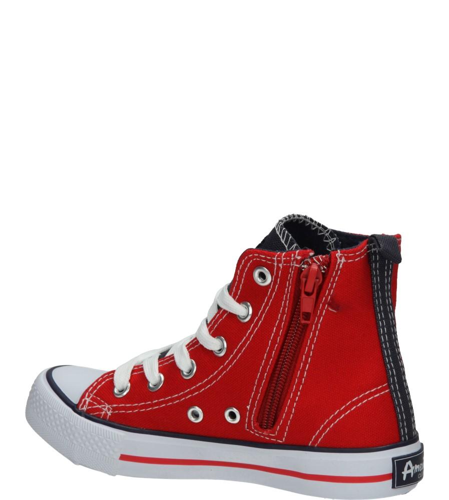 TRAMPKI AMERICAN LH-15-9120-3 kolor czerwony