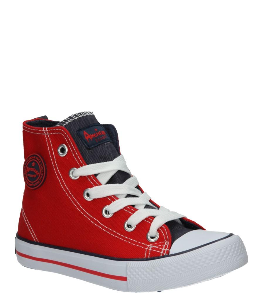 Dziecięce TRAMPKI AMERICAN LH-15-9120-3 czerwony;;