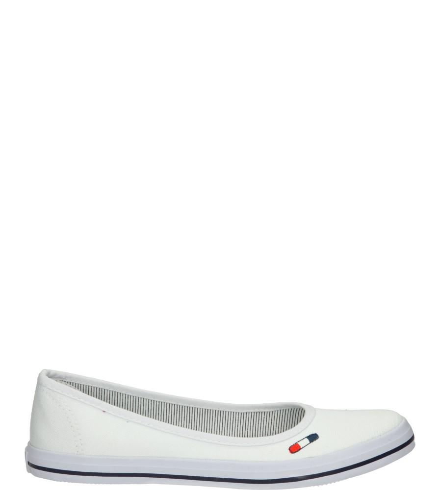 Damskie TENISÓWKI AMERICAN LH-15-9124 biały;;