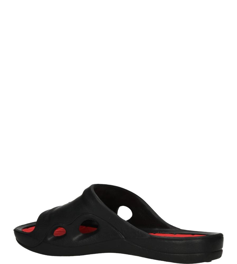 KLAPKI AMERICAN LC-A083010-1 kolor czarny, czerwony