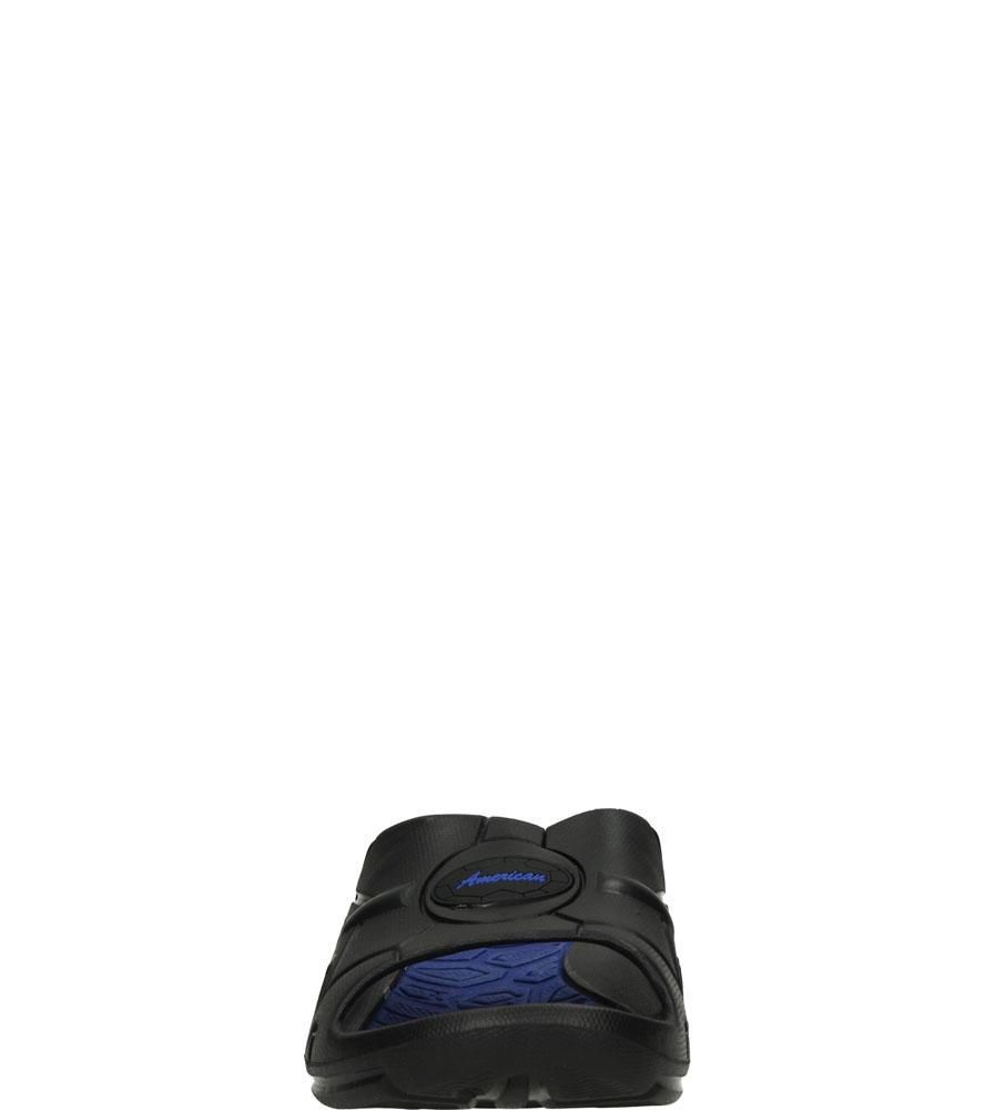 Męskie KLAPKI AMERICAN A038-140519-15 czarny;niebieski;