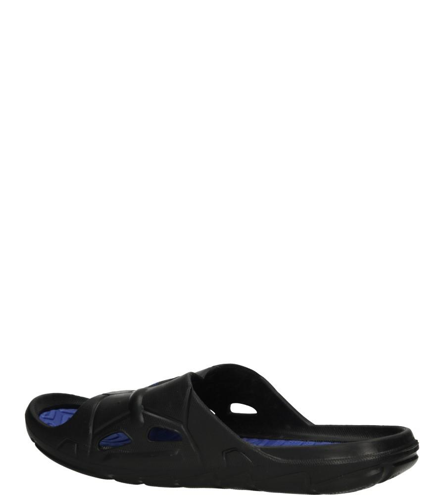 KLAPKI AMERICAN A038-140519-15 kolor ciemny niebieski, czarny