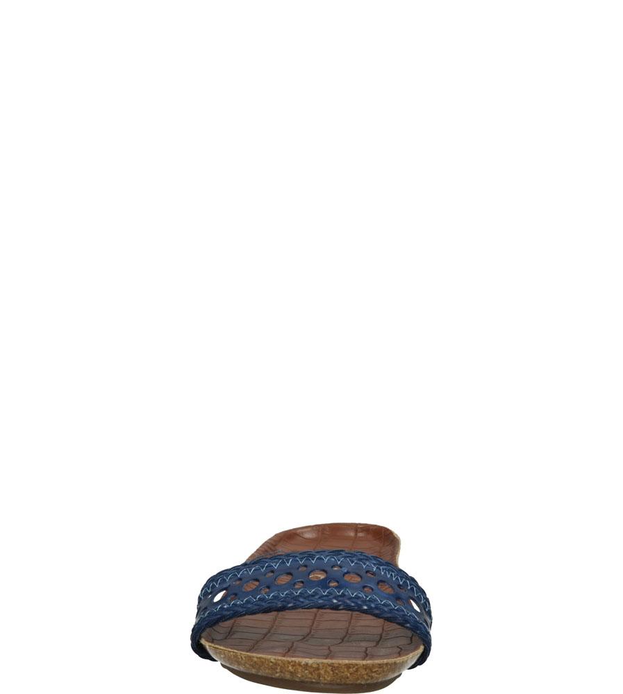 Damskie KLAPKI S.BARSKI G019 niebieski;;