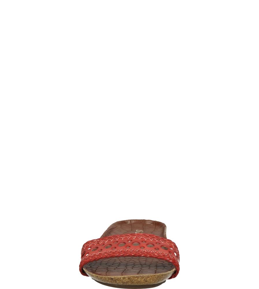 Damskie KLAPKI S.BARSKI G019 czerwony;;