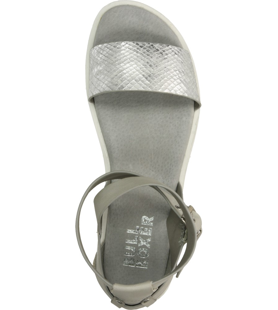 Damskie SANDAŁY BULLBOXER 088F1S004 biały;srebrny;