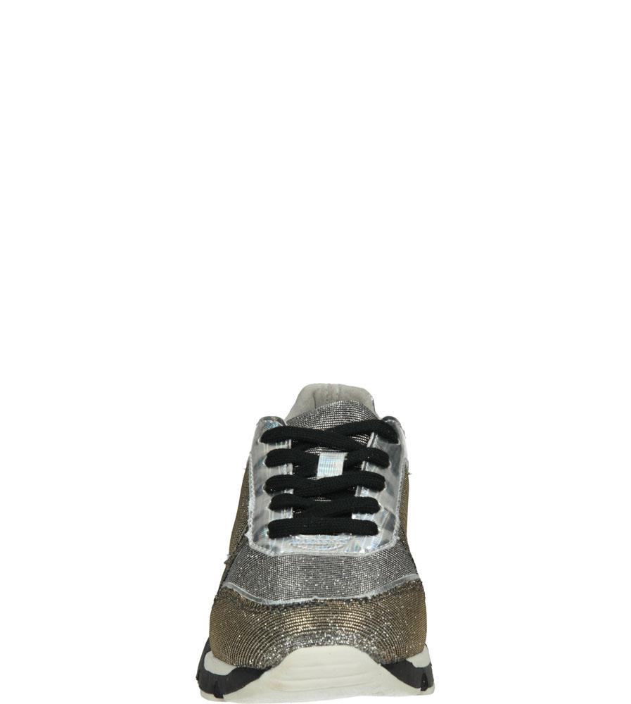 Damskie SPORTOWE BULLBOXER 768F5T010 srebrny;czarny;
