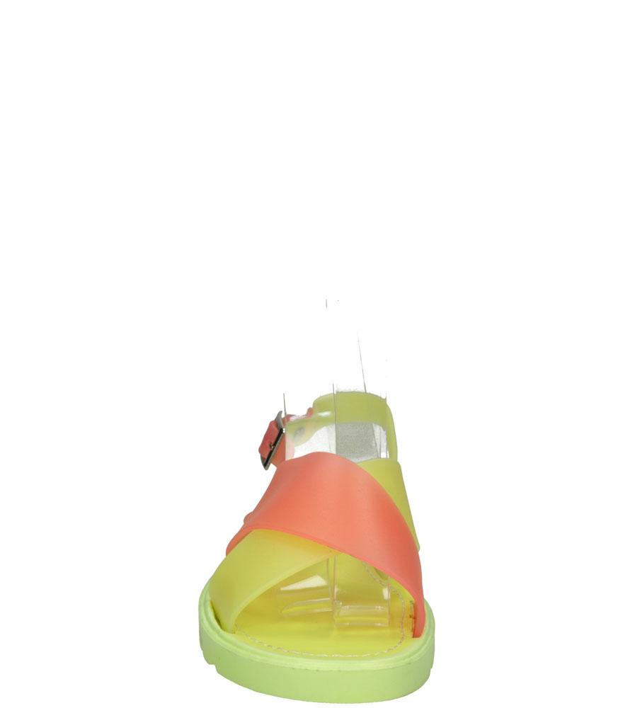 Damskie MELISKI LU BOO LX-03 żółty;zielony;