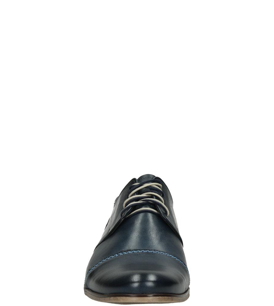 Męskie WIZYTOWE CASU P-027/G niebieski;;