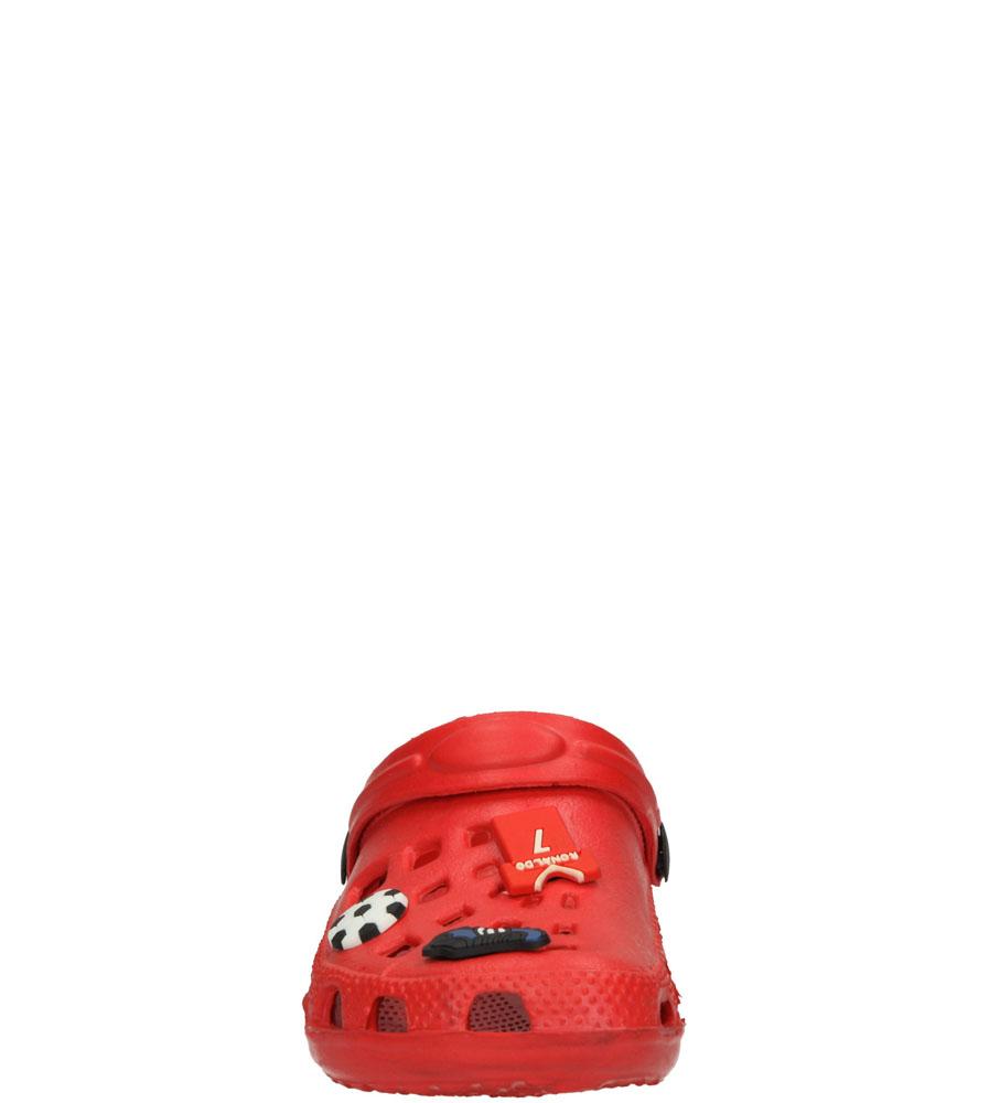 Dziecięce KLAPKI AMERICAN 2339/15-6 czerwony;;