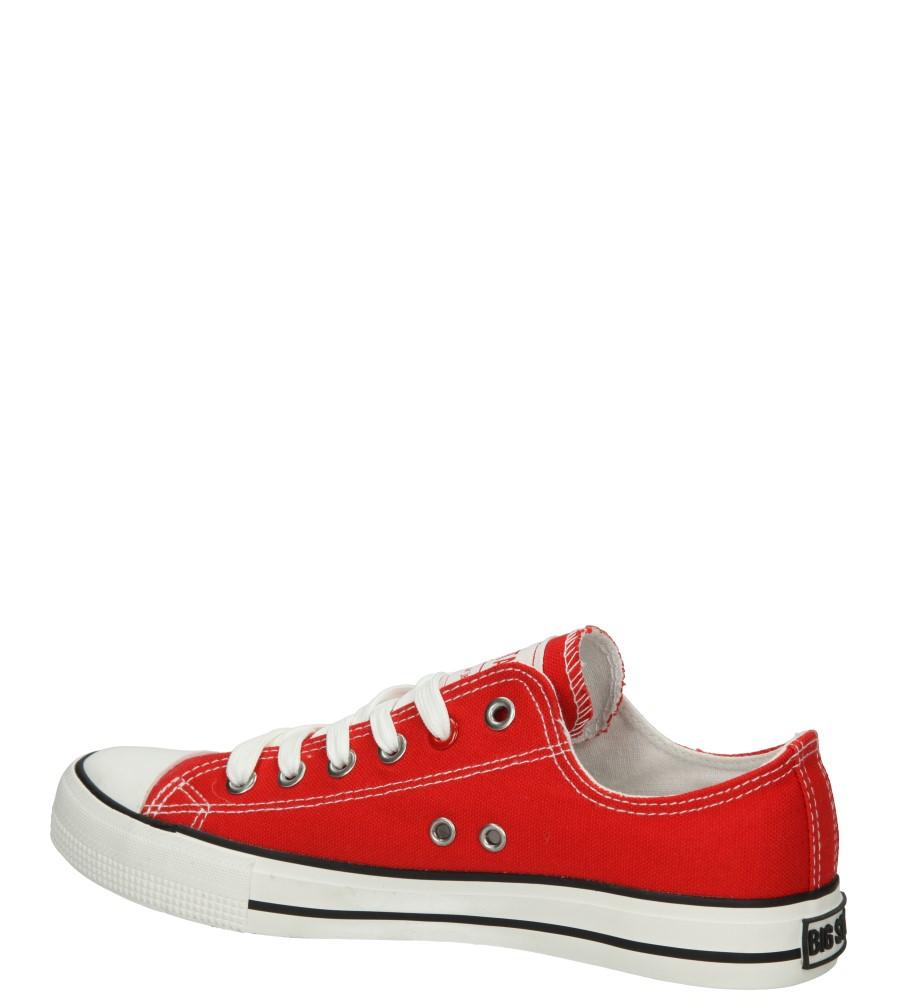 Damskie TRAMPKI BIG STAR T274020 czerwony;;