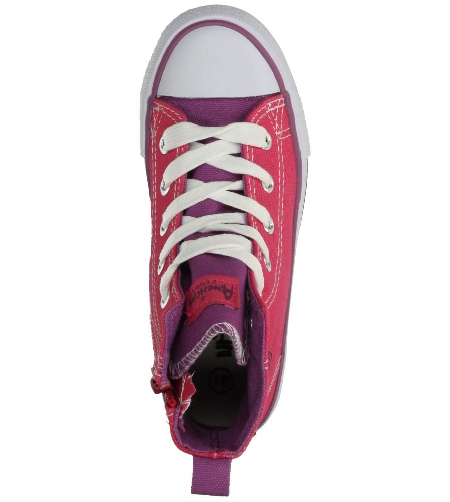 Dziecięce TRAMPKI AMERICAN LH-15-9120-4 różowy;fioletowy;