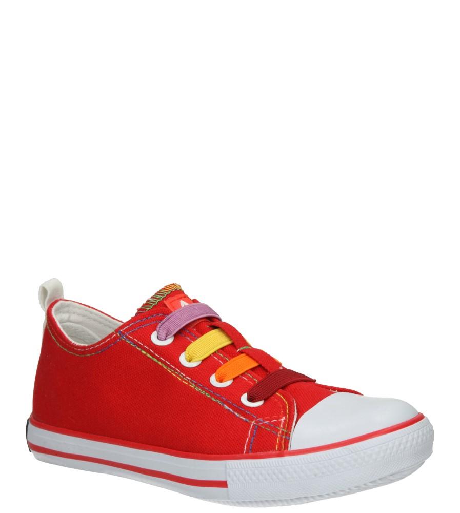 Dziecięce TRAMPKI AMERICAN LH-15-DSLN05-2 czerwony;biały;