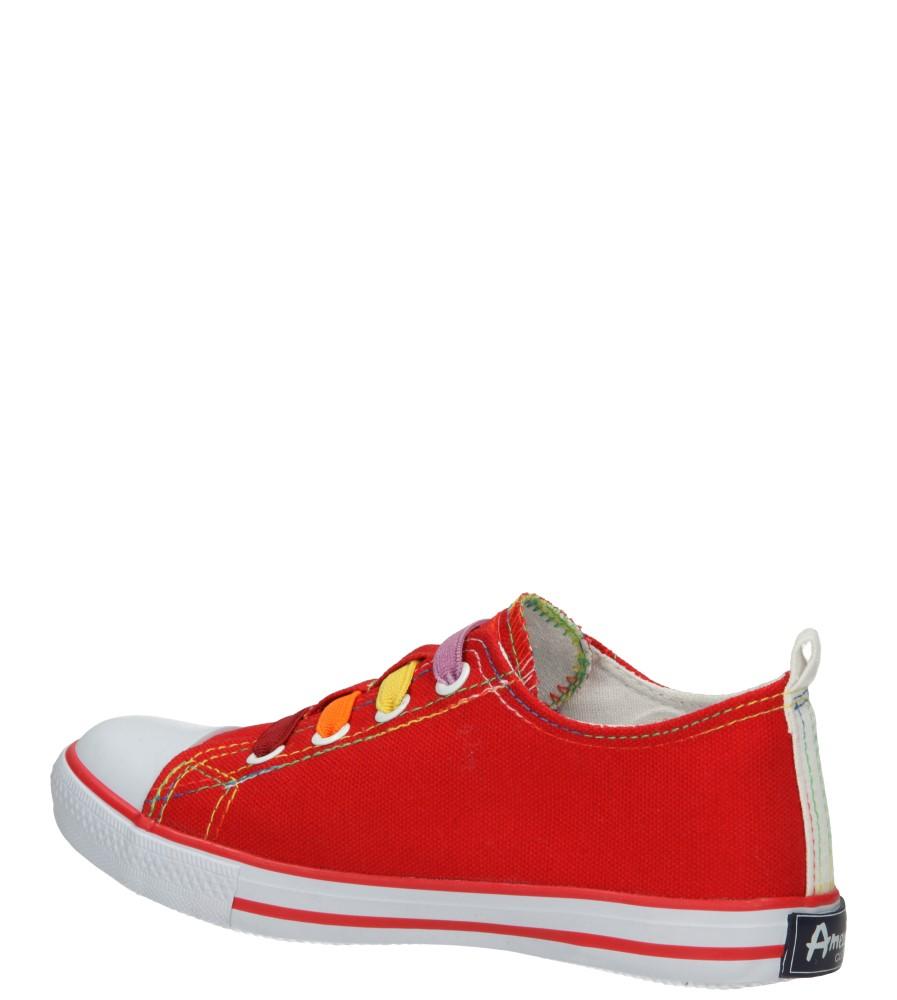 TRAMPKI AMERICAN LH-15-DSLN05-2 kolor biały, czerwony