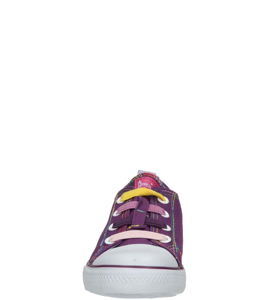 Dziecięce TRAMPKI AMERICAN LH-15-DSLN05-2 fioletowy;biały;
