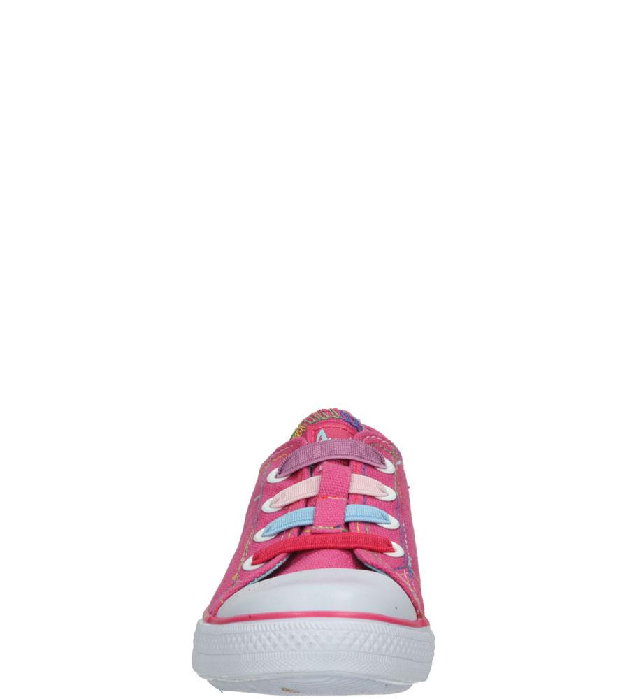Dziecięce TRAMPKI AMERICAN LH-15-DSLN05-2 różowy;biały;