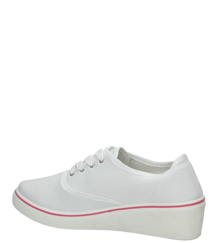 Damskie TRAMPKI CASU VT30 biały;;