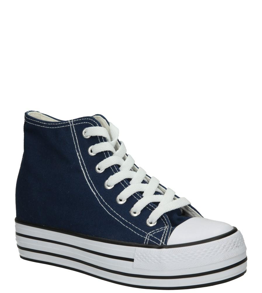 Damskie TRAMPKI CASU LH45406 niebieski;;