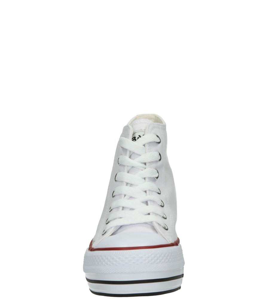 Damskie TRAMPKI CASU LH45406 biały;;