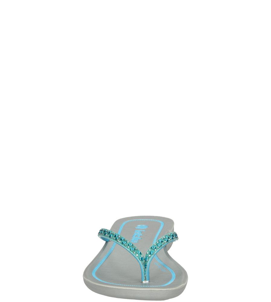 Damskie JAPONKI INBLU IB000033 niebieski;;