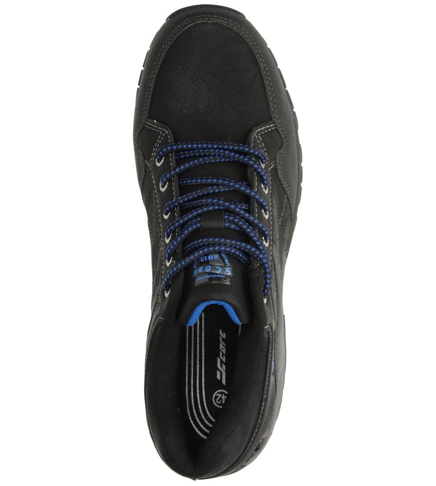 Męskie PÓŁBUTY CASU MXC6628 czarny;niebieski;